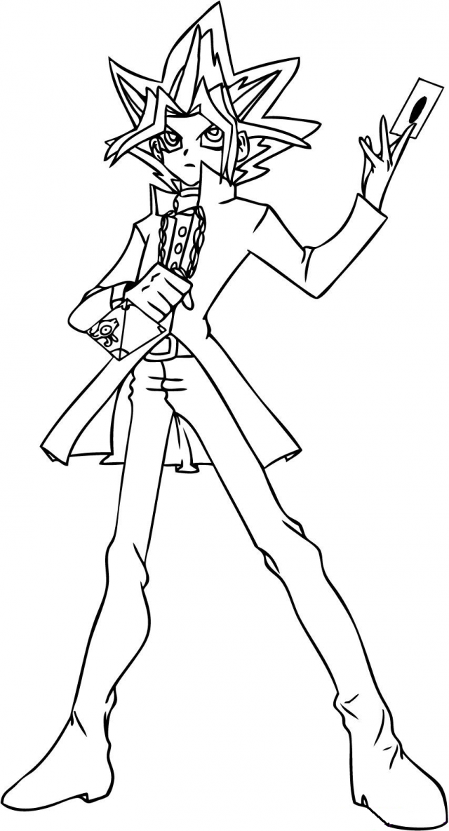 Best Yugioh Gx Coloring Pages