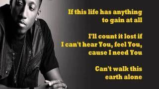 Boasting Lecrae Feat Anthony Evans Lyrics On Screen Via