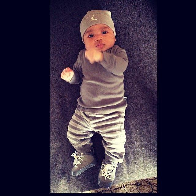 Evelyn Lozada Son | Baby jordan outfits