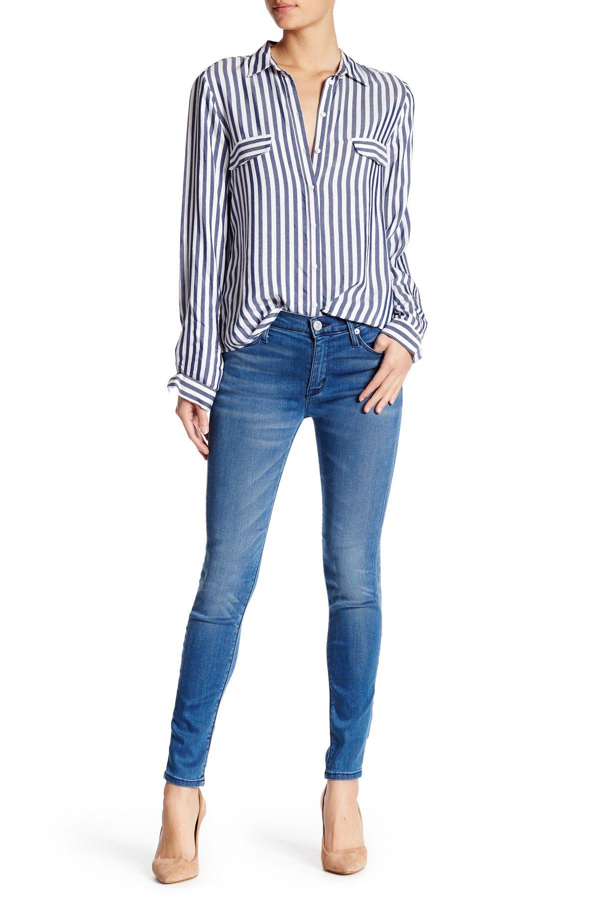 68739e57f9 Nico Midrise Ankle Super Skinny Jean