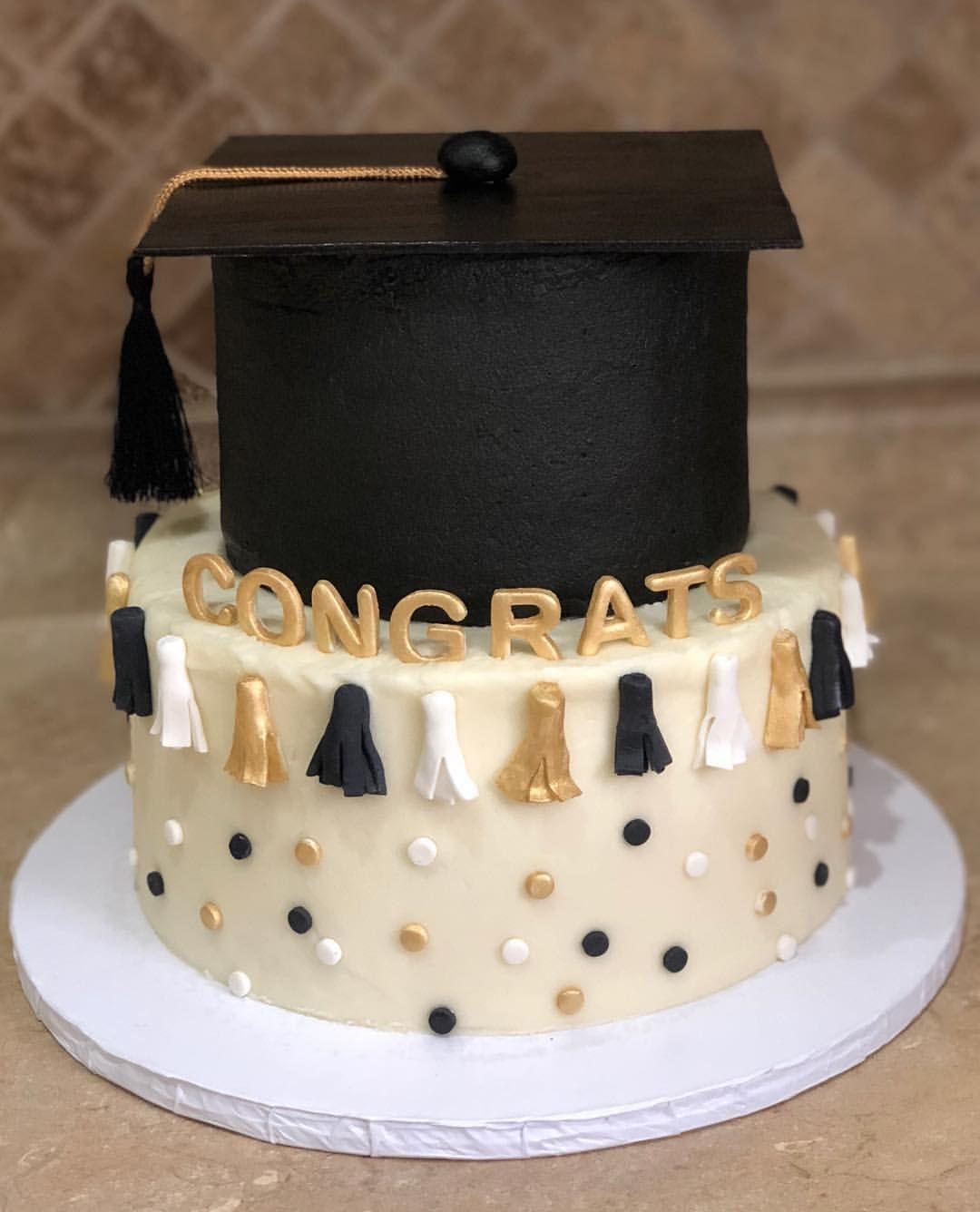Superb Grad Cake Congratulations Red Velvet And Birthday Cake With Cream Personalised Birthday Cards Akebfashionlily Jamesorg