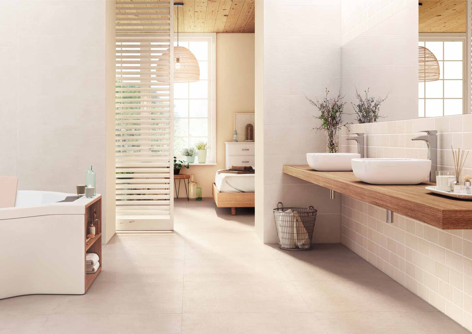 Comment aménager une salle de bains dans une petite chambre