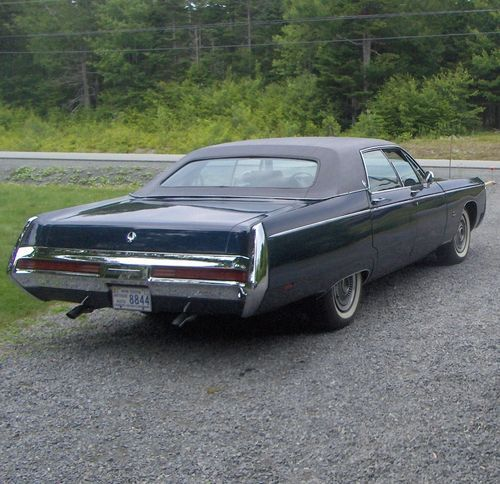 1969 Chrysler Imperial 1969 Imperial Lebaron Us 10 000 00 Image 2 Chrysler Imperial Imperial Chrysler