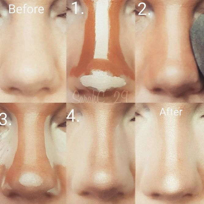 How To Do Makeup – Step By Step Tips For The Perfect Look,  #contourmaquillagenez #Makeup #Pe…
