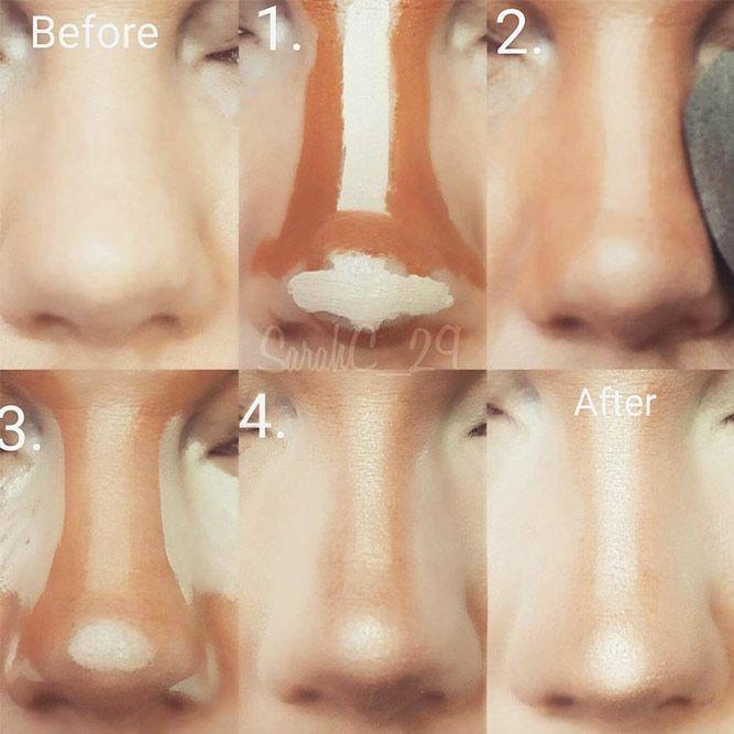 Make-up und # 8211; Schritt für Schritt Tipps für den perfekten Look ★ Mehr dazu: … – schminke