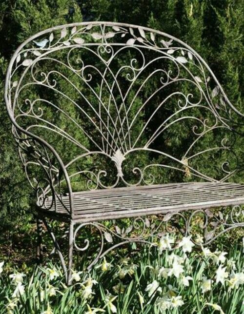 Audubon Bird Bench From Victorian Trading Co.