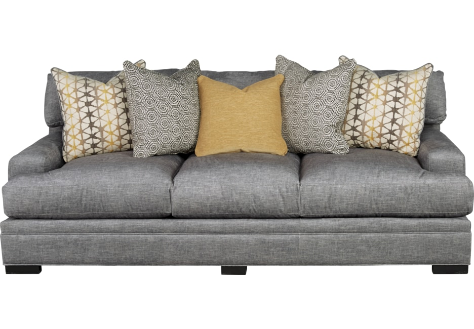 Cindy Crawford Home Palm Springs Gray Sofa Design In