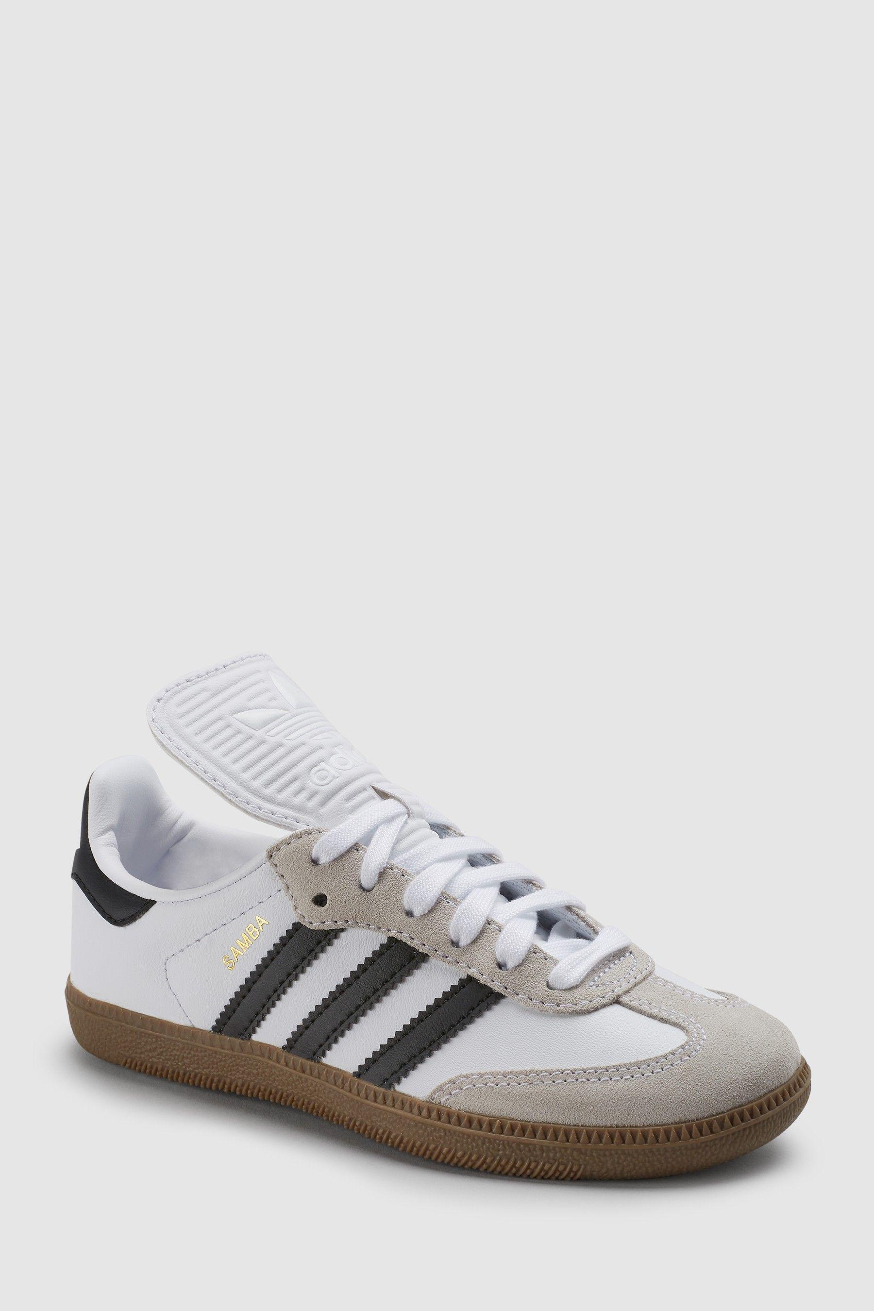 Boys adidas Originals Samba Junior Trainers White   Adidas