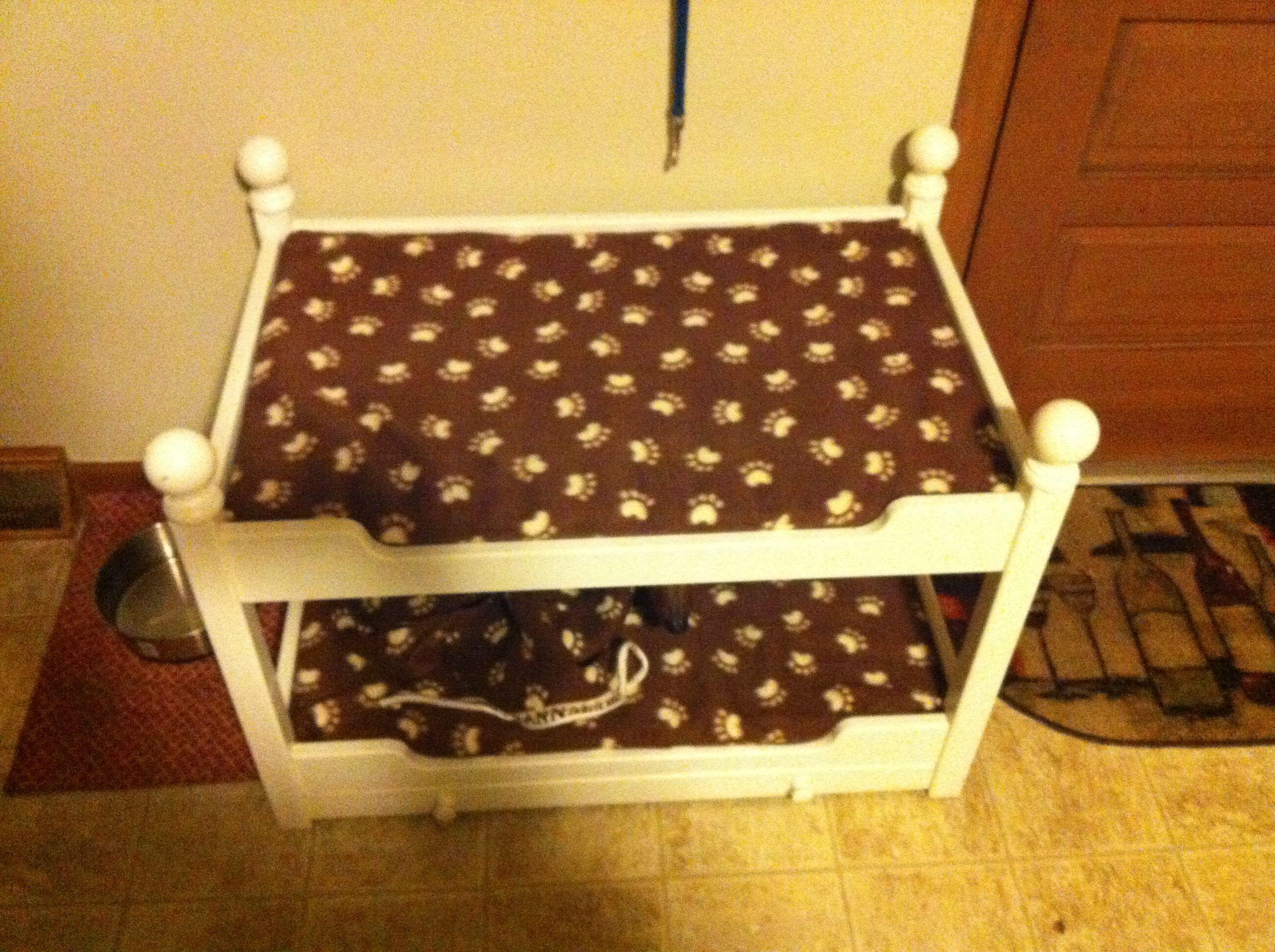 Dog Bunk Beds With Bowl Drawer Animals Pinterest Dog Beds Dog