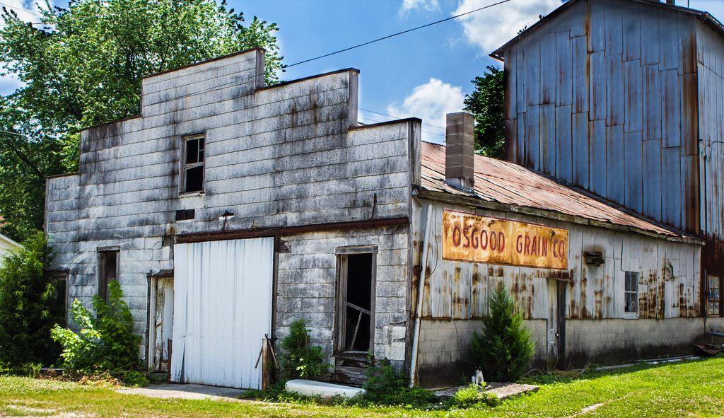 Osgood Grain Co. Osgood, House styles, Historical