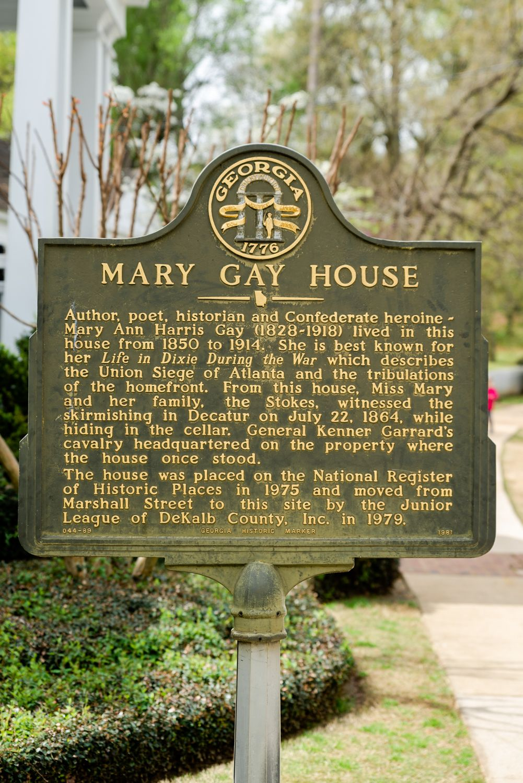 Mary gay house atlanta ga