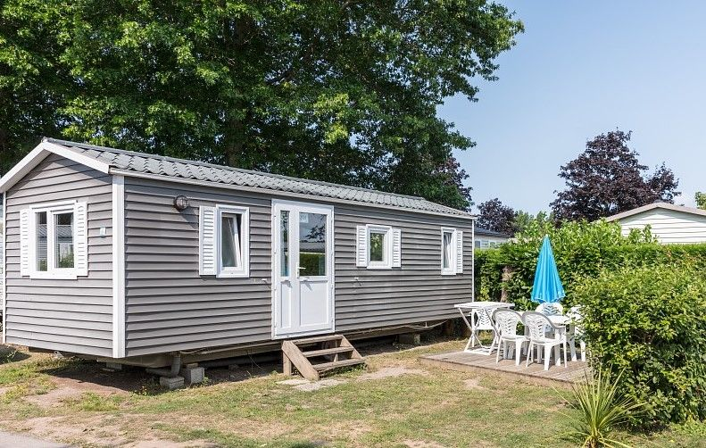 2 Chambres 4 Personnes 2 Enfants Bungalow Vacances Camping Terrasse En Ville