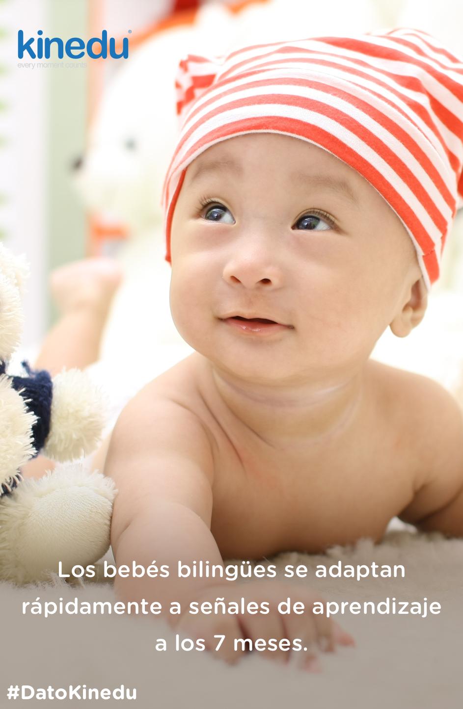 Los bebés bilingües se adaptan rápidamente a señales de aprendizaje a los 7 meses. ¿Por qué vale la pena que tu niño aprenda más de un idioma?