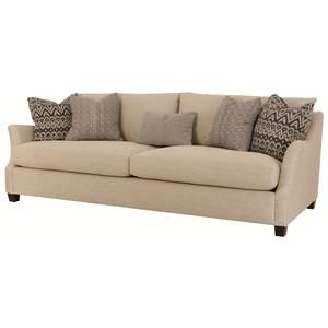 Bernhardt Adrian Long Sofa In Contemporary Furniture Style Baer S Boca Raton