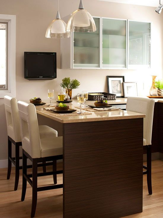 39++ Small kitchen attached dining table Tips