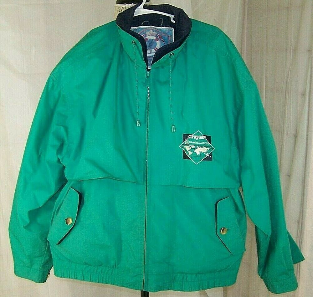 GRAYBAR Gear For Sports Sailing Jacket Vintage Square D
