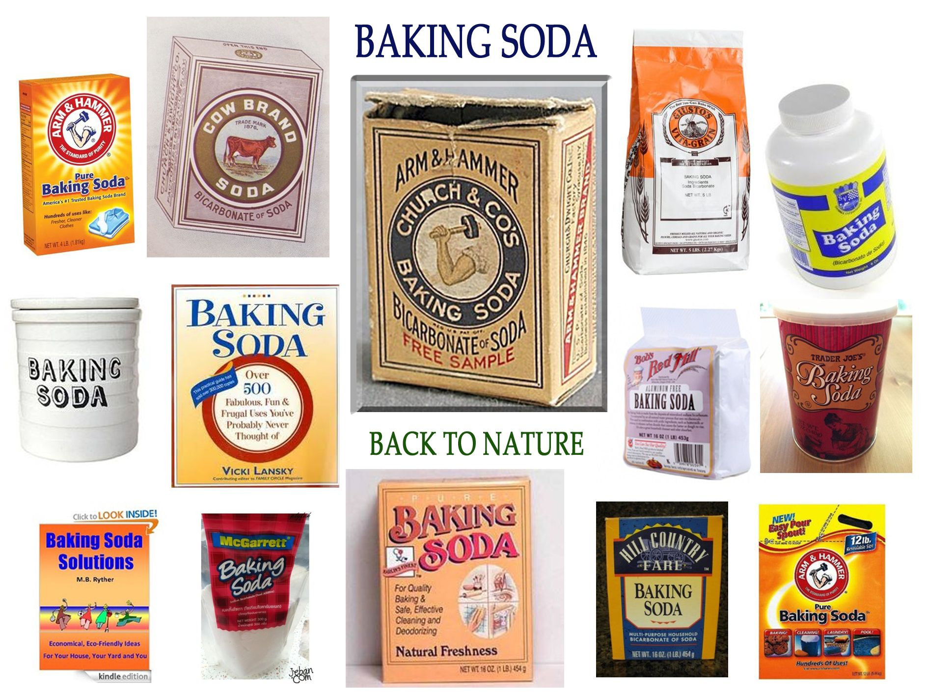 Bakpoeder Zwembad Different Packaging Of Baking Soda I Found On Internet Except Our