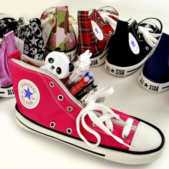 ef7df6c5e43e A mini Converse pencil case.