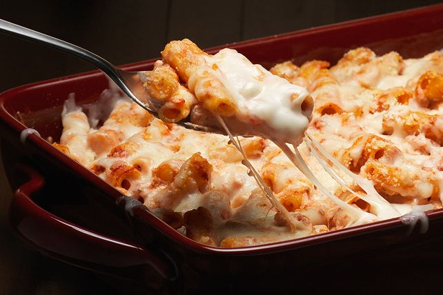 Creamy Baked Ziti Recipe Kraft Recipes Baked Ziti Baked Dishes