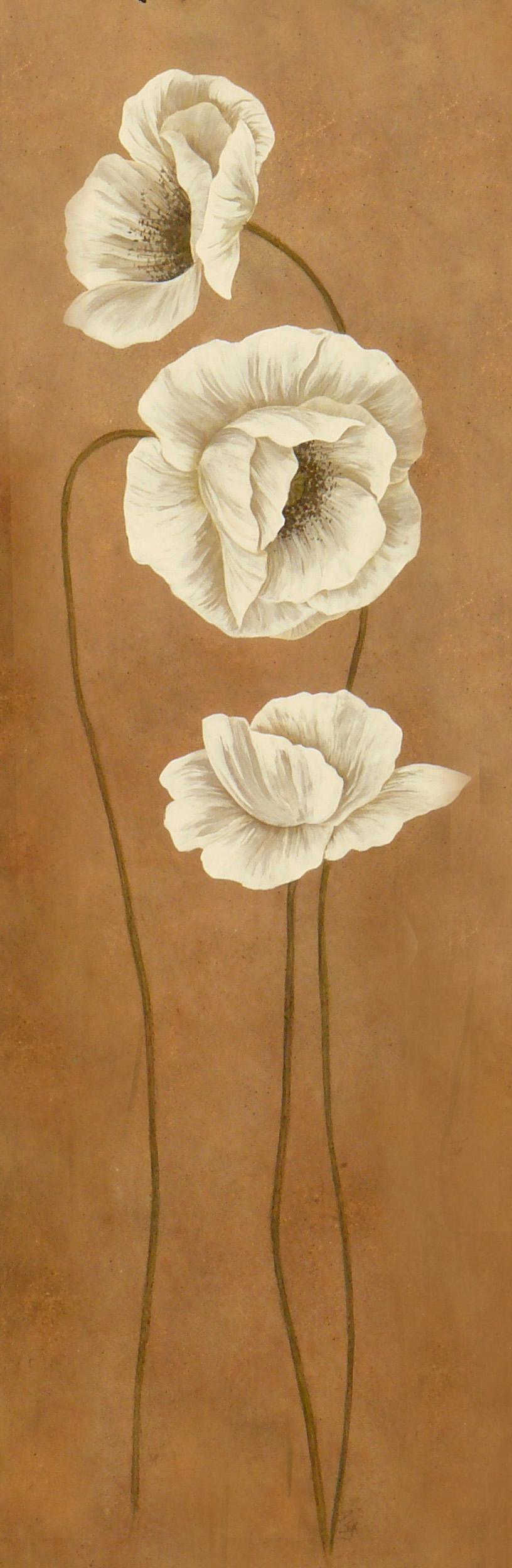 panneaux décoratifs floraux 2.50m