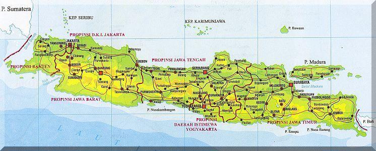Indonesien Karte Karte Von Indonesien