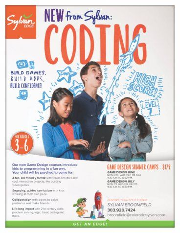 Coding Summer Camps Jpg   Summer Camp Flyer