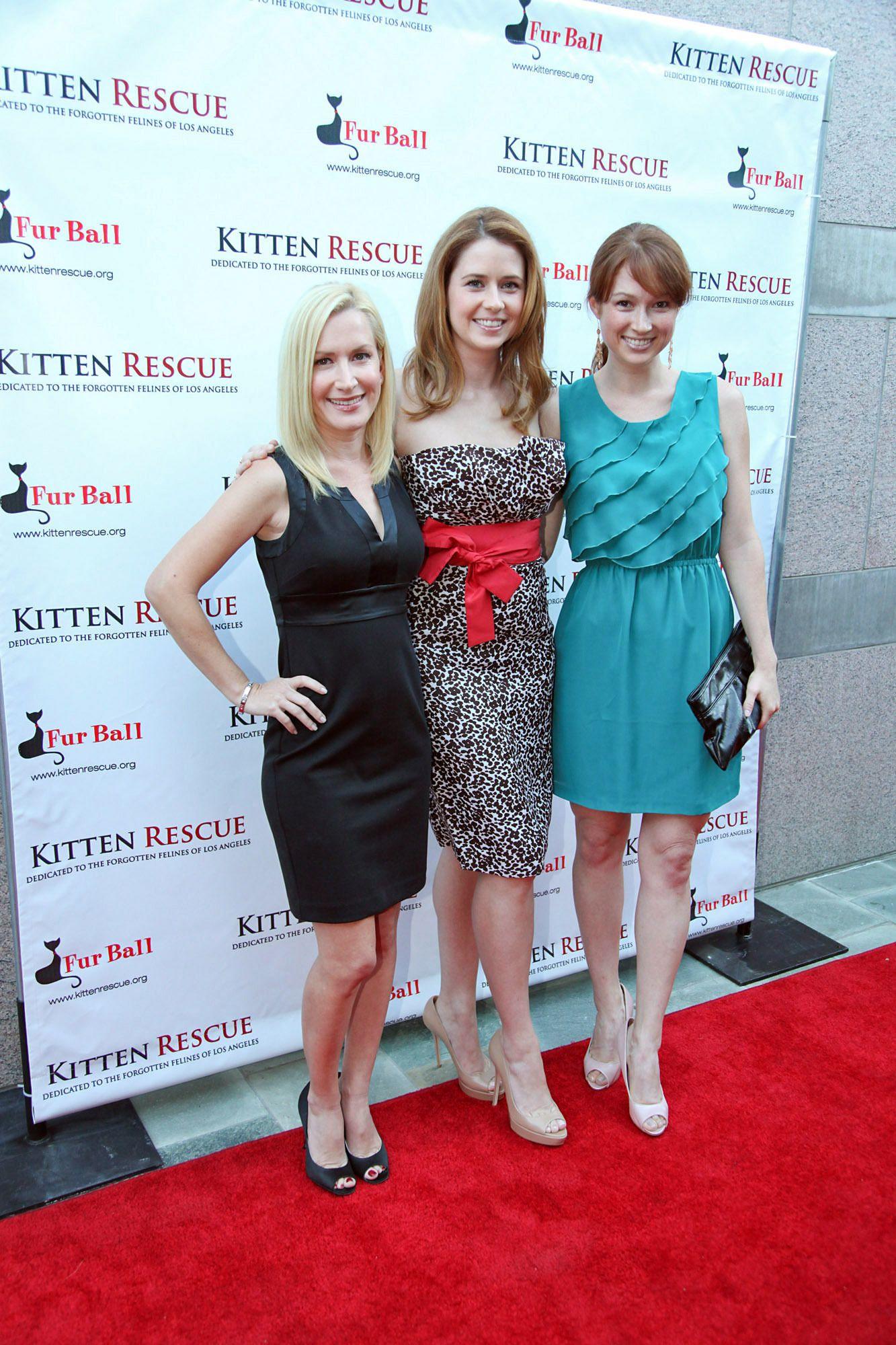 Ellie Kemper Office Red Dress
