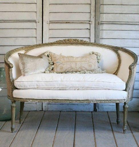 The Paris Apartment Boutique Vintage Couch Small Bedroom Furniture Vintage Sofa