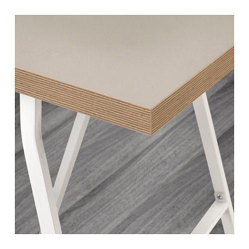 LINNMON / LERBERG Tisch   Beige/weiß   IKEA