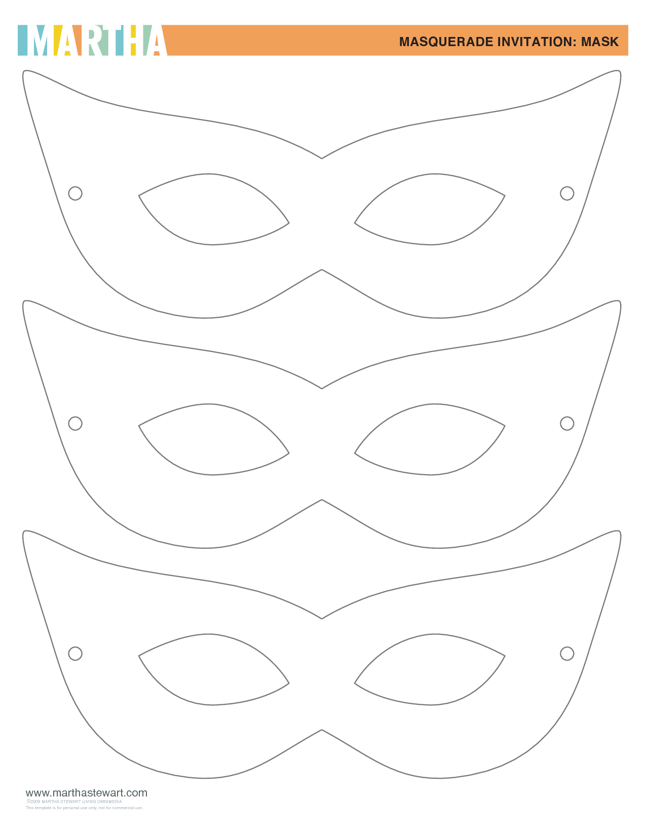 Template For Masquerade Mask PDF By Sex19776 D1wS36vV