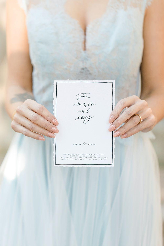 Hochzeitskarten Selber Drucken Im Kalligrafie Und Vintage Stil