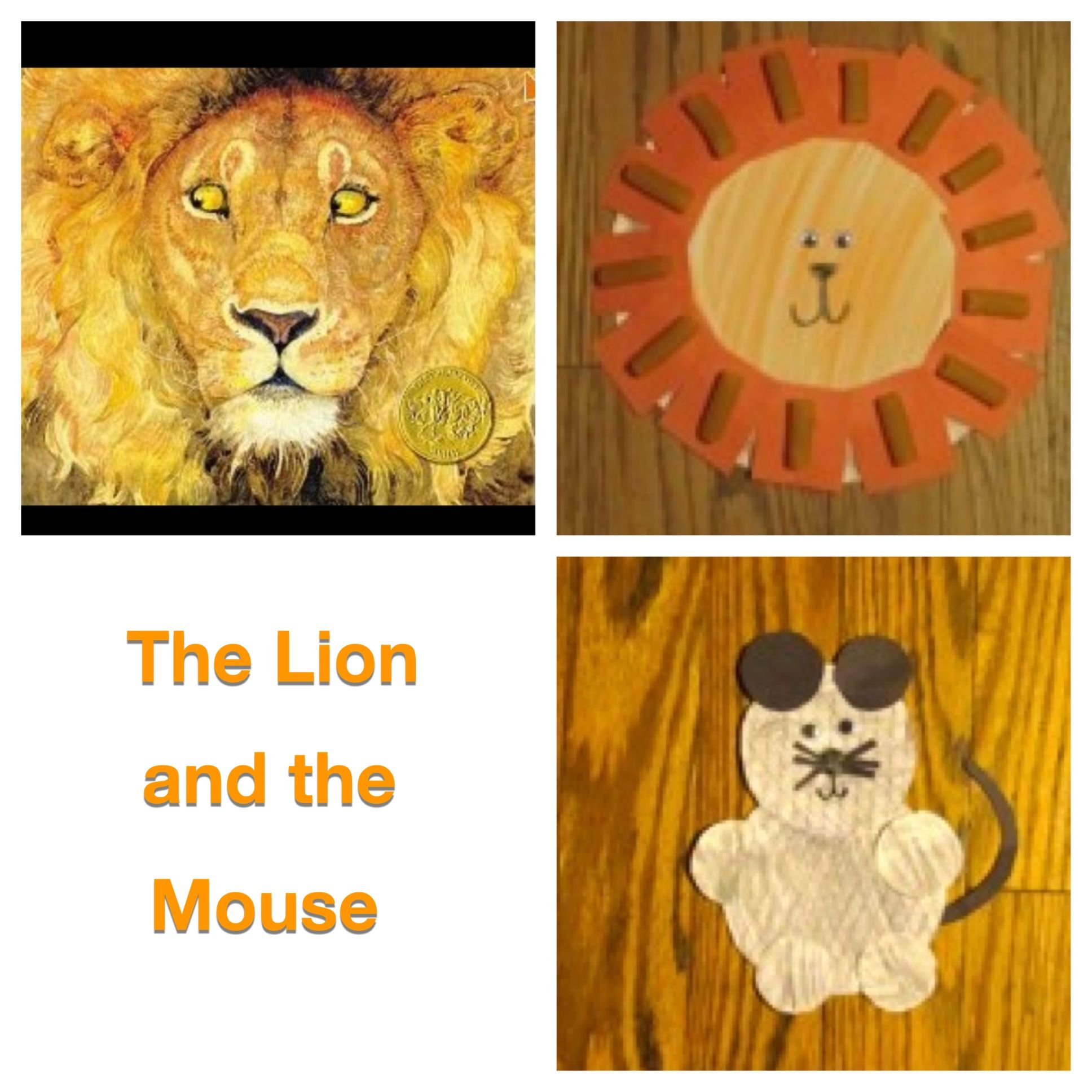 The Lion And The Mouse Craft From Barnyard Book Club Book