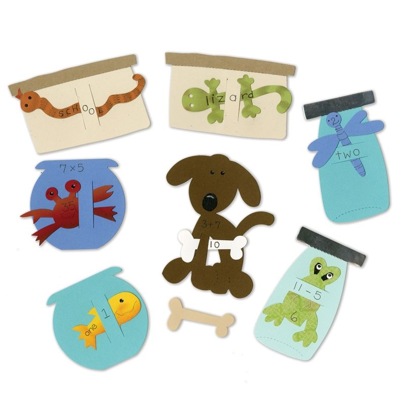 These darling Pet Shop flash cards will help you teach & engage your students.  :]  http://www.ellisoneducation.com/product/A11056/sizzix-bigz-die-set-pet-shop-flashcards-4-die-set
