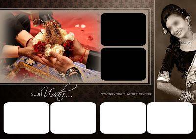 Indian Wedding Album Cover Design 17x24 Psd Templates Weddingalbums