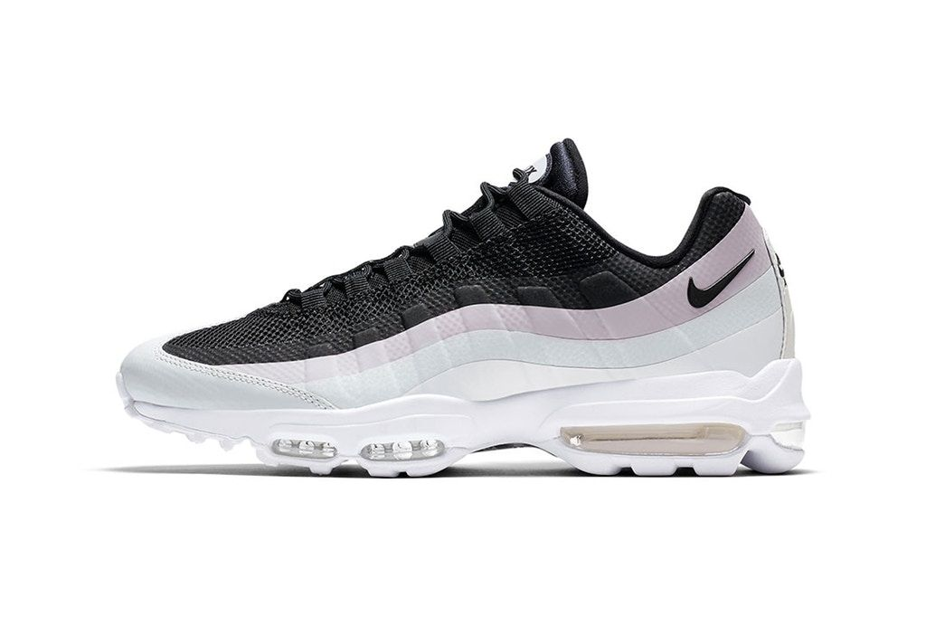 The Nike Pastel Pink on This Nike The Air Max 95 Ultra Essential Is Oh So e7a801