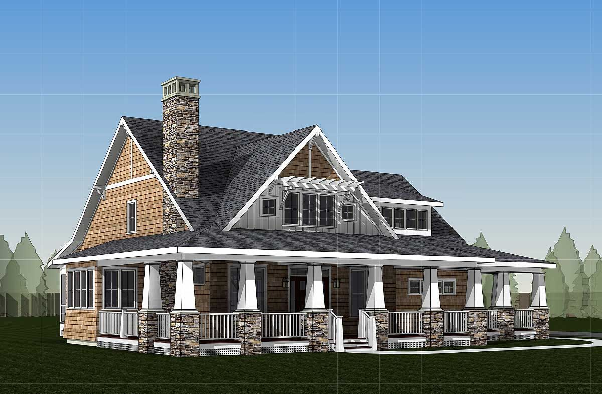 Plan 18289be storybook country house plan with sturdy Build storybook