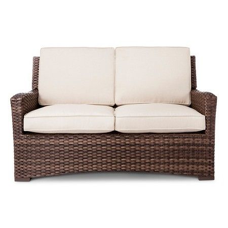 Www.target.com P Halsted Wicker Patio Loveseat Threshold