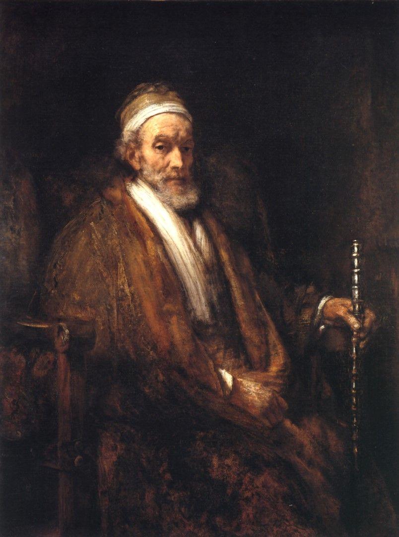 1661 Rembrandt Portrait De Jacob Trip Portrait Of Jacob Trip Hst 130 5x97 Cm Lng
