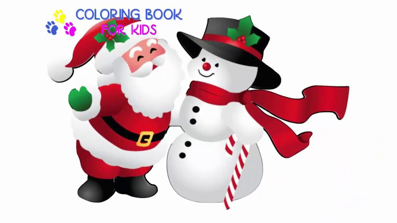 Coloring Book Snowman Coloring pages l Kids Drawing and Coloring ...