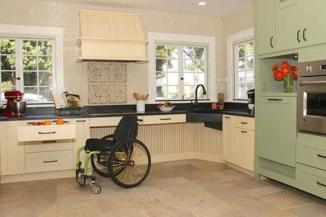 Top Design Tips For Best Accessible Kitchen For All Family Members  #UniversalDesign   Find Out More.