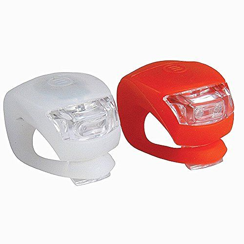 Cycling Bike Bicycle Silicone Light LED Front Rear Safety Warning Lamp