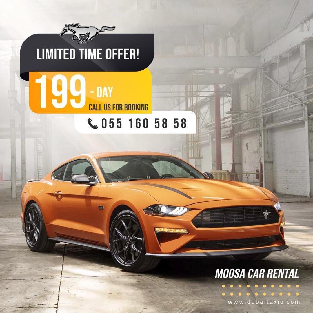 Mustang Cheapestrentacar Dubai In 2020 Car Rental Mustang Rental