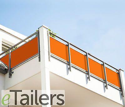 marken balkon sichtschutz & windschutz - balkonbespannung, Hause und Garten