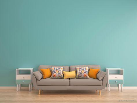 TÜRKIS als Wandfarbe! Wie gefällt euch die Kombination mit warmen