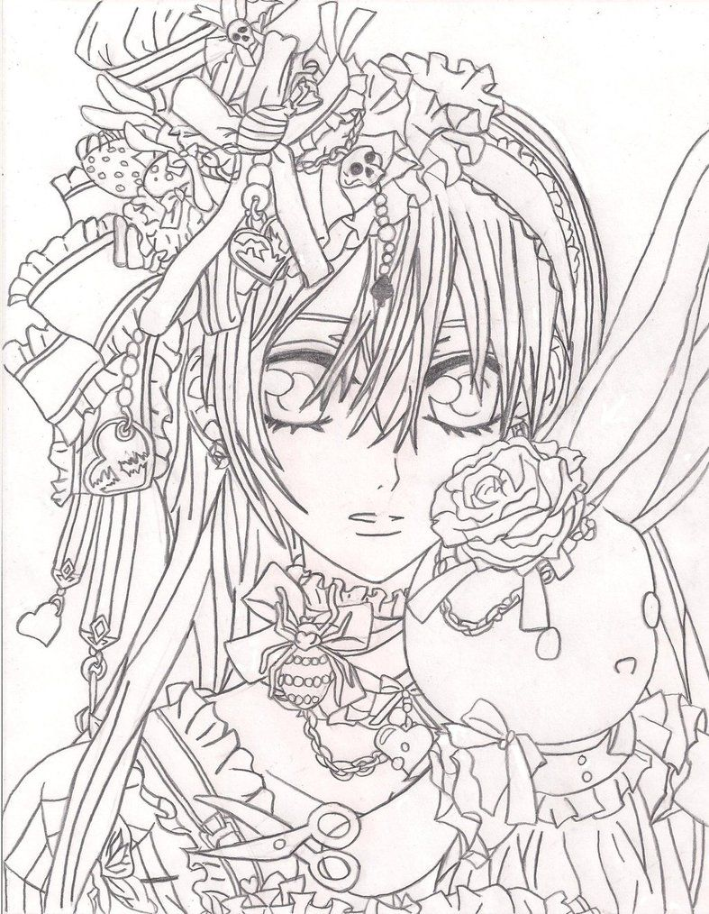 Print rosario vampire coloring pages new on property free coloring kids coloriages adultes - Coloriage de vampire ...