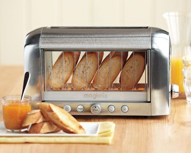 Glass Toaster So Cool You Could Actually See Your Bread Toast