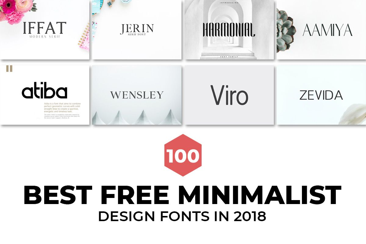 100 Best Free Minimalist Design Fonts In 2019 Minimalist Font Fonts Design Minimalist Design