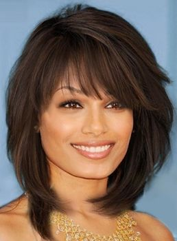 Easy Bob Hairstyles Prepossessing Find Easy Long Layered & Angled Bob Hairstyles With Bangs  Hair