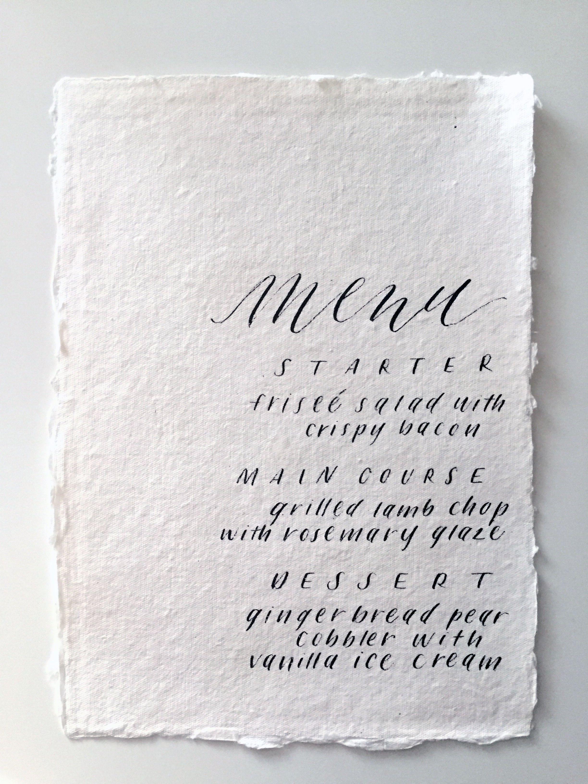 Calligraphy Inspiration Miranda Writes Wedding