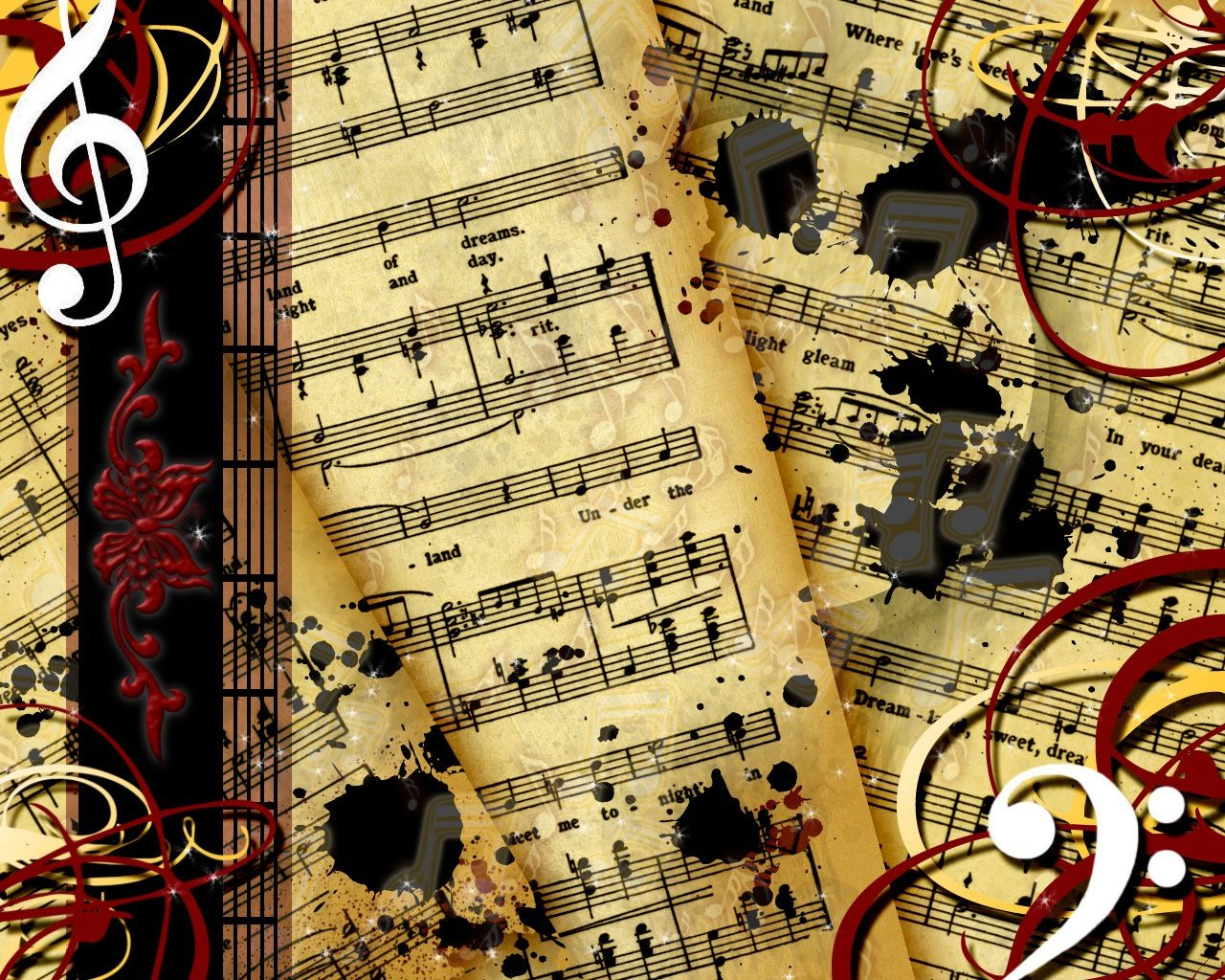 Music Sheets Desktop Wallpaper. Or maybe even a potential wall ...